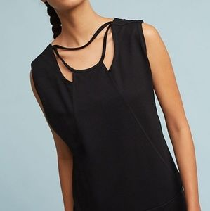 NWT Anthropologie Paneled Cutout Pullover